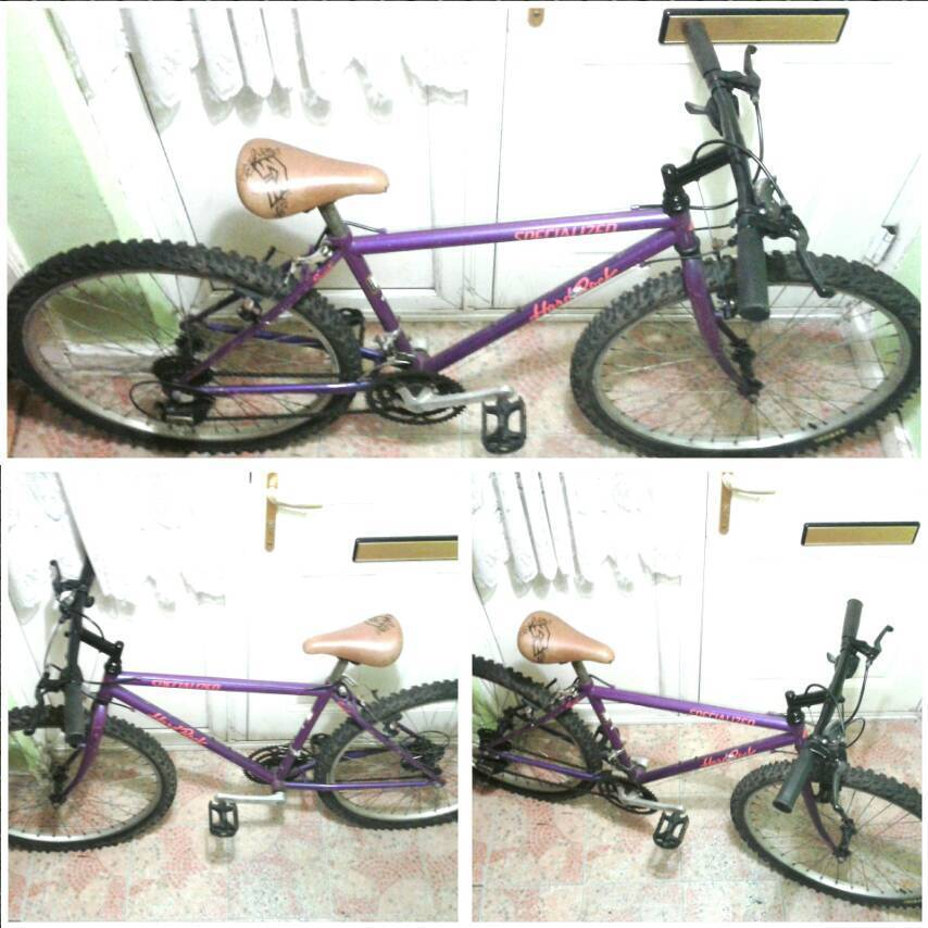 Hard rock mountain bike (tidy)