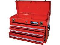 Kennedy tools set with 3 drawers toolbxox