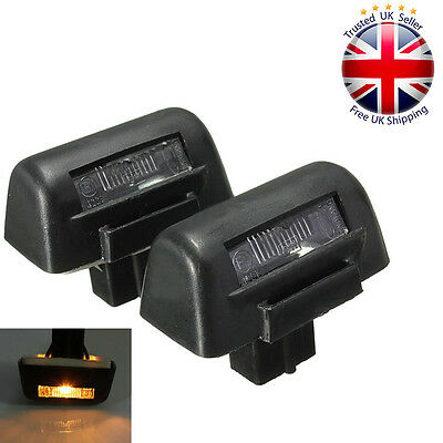 2 x New Ford Transit MK6 MK7 1985-2013 Rear Number License Plate Light Lamp Bulb