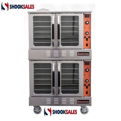MVP Group SRCO-2E Double Stack Convection Oven, Electric