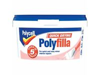 POLYFILLA MULTI PURPOSE QUICK DRYING TUB 500g