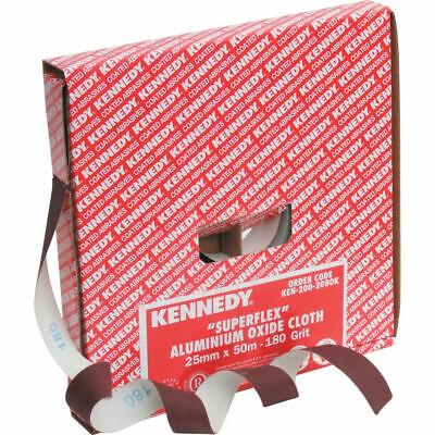 Kennedy Schleifpapier Sparrolle 50 m x 25 mm Korund  Körnung: 120
