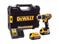 Dewalt DCD796P2 Xr Brushless Hammer Drill Driver 18 Volt 2 X 5.0Ah