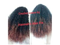 Hair Extension, Weaves, L.A weave, Micro Rings, Micro Weft, Crochet Braids, Box Braids Liverpool