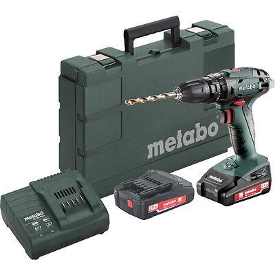 Metabo Sb18 Cordless Combi Drill 2X2.0Ah