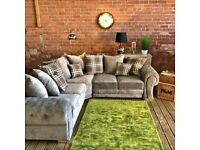 Cheapest Sale On Brand New Verona Chesterfield Corner Couch & 3+2 Seater In Stock Order Now..
