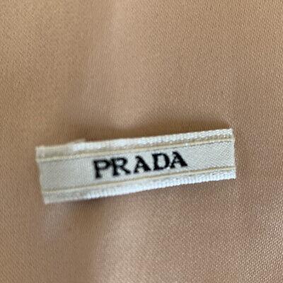 "PRADA AUTH PINK SATIN DRAWSTRING PURSE SHOE TRAVEL DUST BAG, 13 1/4""W x 15""H"