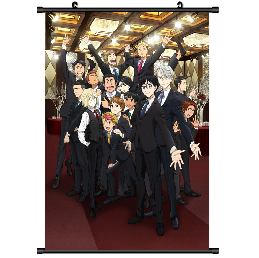 on Ice Nikiforov Victor  Scroll Home Decor cosplay 1070 Anime Yuri!!
