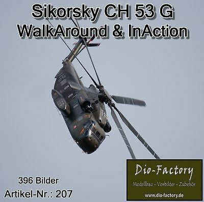 FOTO-DVD 207 ** Sikorsky CH 53 G ** WalkAround & InAction ** 396 Bilder **