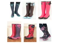 Job Lot Of Ladies Wellington Boots / Wellies (76 Pairs)