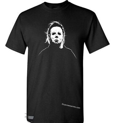 Michael Myers Mask Halloween T-Shirt  - T Halloween