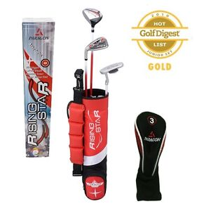 Kids-Jr-Golf-Sets-Ages-3-5-Toddler-Set-Red-Right-Hand-Kids-Golf-Clubs-Jrs