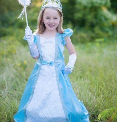 Great Pretenders Parisian Hoop Girls Princess Dress Up Costume Dress, Blue (Great Costumes For Girls)