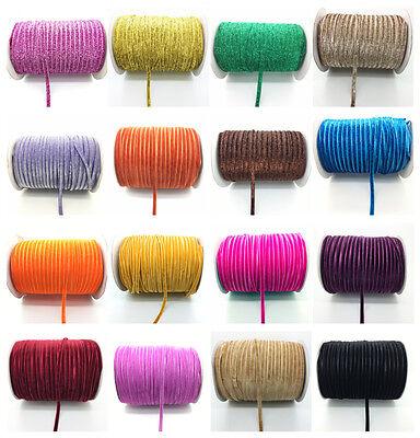 New 5 yds 6mm Wide Velvet Ribbon Vintage Headband Clips Bow Decoration Pick](Ribbon Decorations)