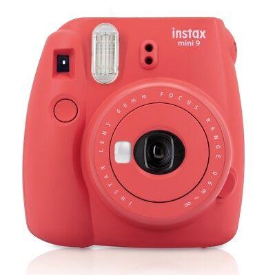 Fuji Instax Mini 9 Roja