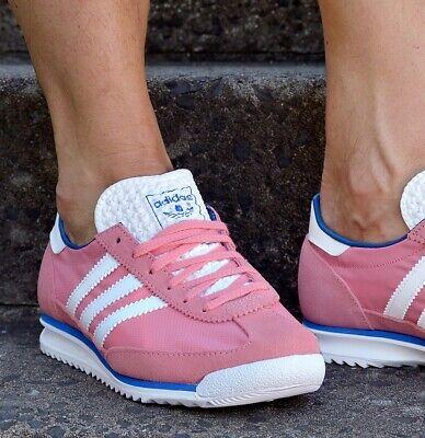 adidas SL72 W Damen Schuhe Sneaker dragon zx superstar racer eqt adv rosa/weiss Rosa Damen Sneaker