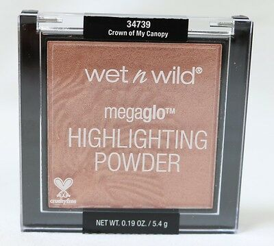 Wet n Wild Megaglo Highlighting Powder 34739 Crown of My Canopy NEW FREE SHIP
