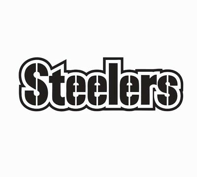Pittsburgh Steelers Football NFL Vinyl Die Cut Car Decal Sticker - Free Shipping - Steelers Stickers