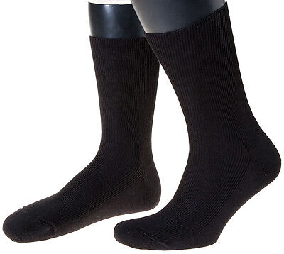 3 Paar Damen, Herren-Socken, Made in Germany, 100% Schurwolle Feinripp