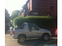 Suzuki Grand Vitara convertible/soft top 1.6 petrol 4WD