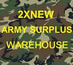 2XNEW   ARMY SURPLUS WAREHOUSE
