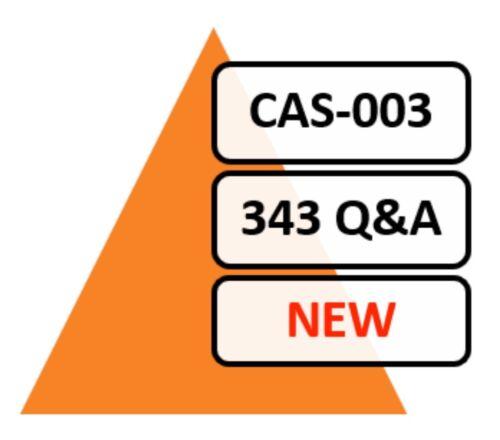 CAS-003 (CompTIA Advanced Security Practitioner CASP)), 343 Q&A, PDF FILE!