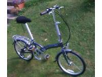 """""""Jack"""" by Dawes folding bike, like Brompton, excellent condition"""