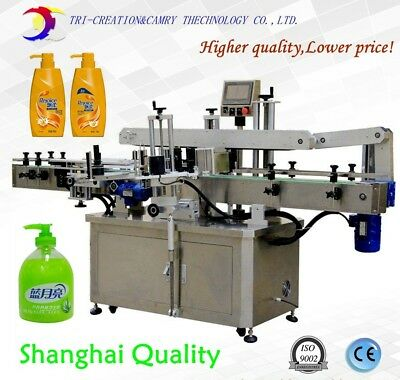 Labeling Machineautomatic Flat Bottle Labeling Machinewith Round Bottle System