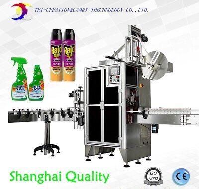 Shrink Sleeve Labeling Machinebottle Film Heat Shrink Labeling Machineshanghai