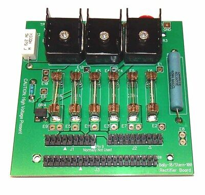 Bally|Stern Pinball Machine Rectifier Board Power Supply & Deluxe Connector Kit