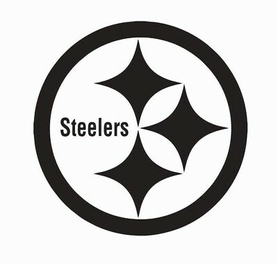 Pittsburgh Steelers NFL Football Vinyl Die Cut Car Decal Sticker - FREE SHIPPING - Steelers Stickers