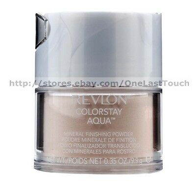 REVLON* Colorstay Aqua MINERAL FINISHING Loose Powder *YOU CHOOSE* Shine-Free ()
