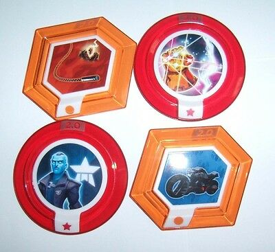 DISNEY INFINITY 2.0 Marvel Heroes Power Disc Lot 4 Rares Gau
