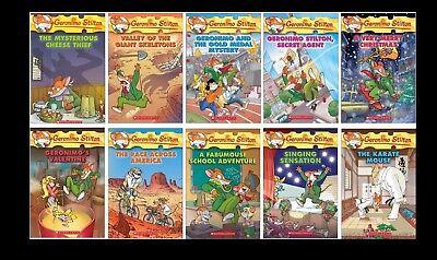 10 Geronimo Stilton Books for $19.95 Free Shipping!!