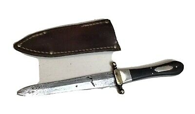 Vintage Pre-Civil War G.WOODHEAD 36Howard St SHEFFIELD BOWIE KNIFE Dagger Dirk