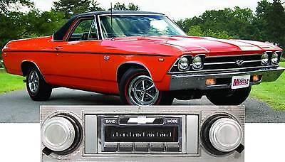 NEW USA-630 II* 300 watt '65 El Camino AM FM Stereo Radio iPod, USB, Aux inputs