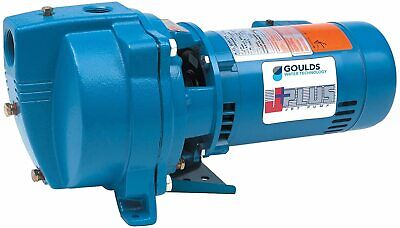 Goulds J5s Shallow Water Well Jet Pump 12 Hp 115230v