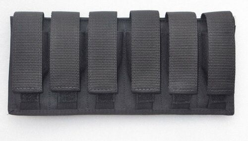 Six /6  Magazine Pouch - 9MM / 40 S&W / 45 ACP Double Stacked Magazines