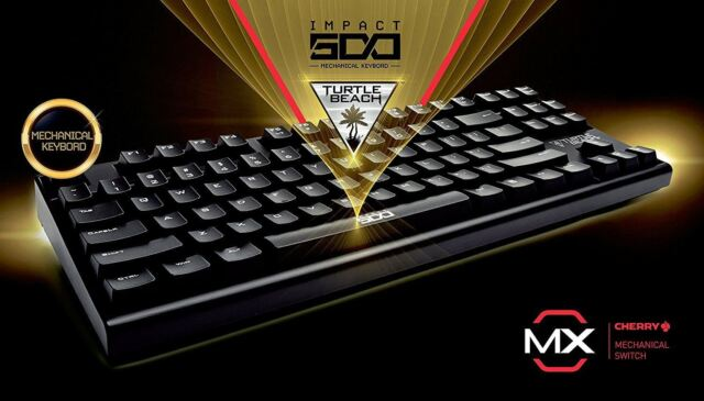 cd80ad173ff Turtle Beach Impact 500 Gaming Mechanical Keyboard Cherry MX Blue Switches  - UK
