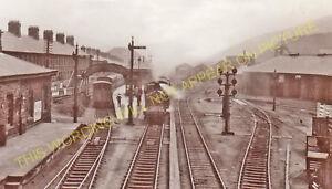Treherbert Railway Station Photo. Treorchy - Blaen-Rhondda. Taff Vale Rly. (8)