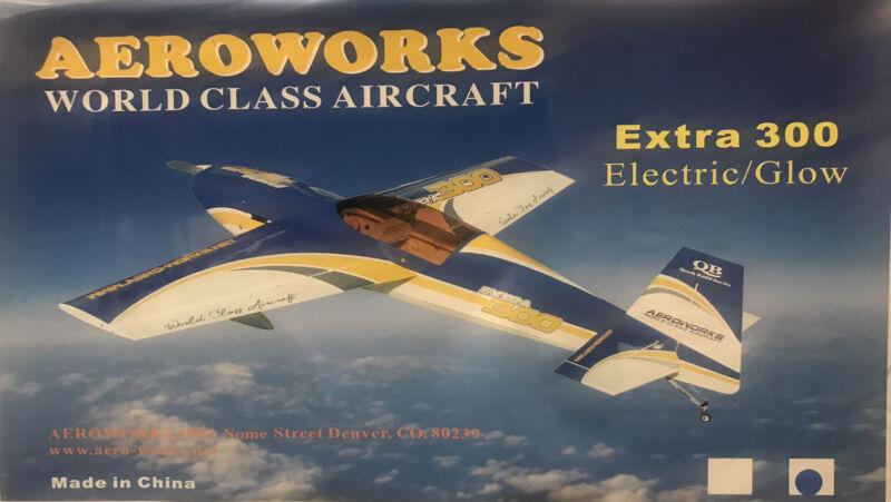 Aeroworks Extra 300 .60-.90 ARF (Blue / Yellow)