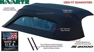 Honda S2000 2000-2001 Convertible Soft Top With Glass Window NEW!!