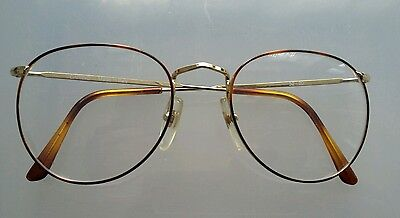 VINTAGE  GLASSES CARINO  NEW  OLD  STOCK. 52/ 20  MADE  IN  ITALY