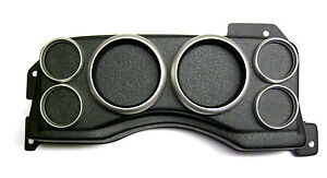 6 gauge Ford Mustang Fox body Instrument Cluster Gauge Panel
