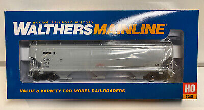 Walthers HO Scale RTR Cargill 60' NSC 5150 3-Bay Covered Hopper Car #1035 Covered Hopper 3 Car