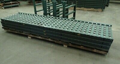 30 Of Hytrol Gravity Ball Roller Conveyor Sections With Legs
