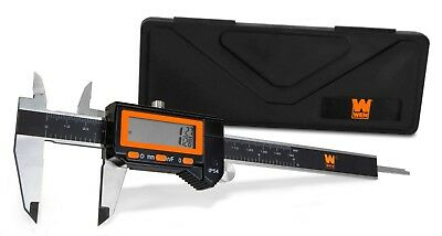 Wen 10764 Electronic 6.1-inch Stainless Steel Water-resistant Digital Caliper