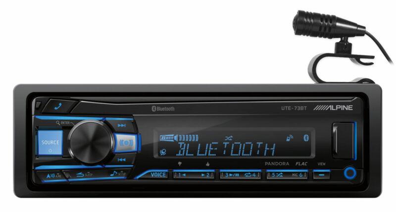 ALPINE UTE-73BT Digital Media Advanced Bluetooth Car Stereo Receiver w/AUX/USB