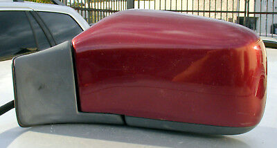 93 94 95 96 97 98 99 00 VOLVO S70 V70 850 DRIVERS Side Power Mirror Venetian Red