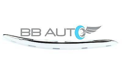 05-10 VOLKSWAGEN VW JETTA RH BUMPER FOG LIGHT COVER GRILLE CHROME TOP TRIM NEW